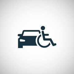 disabled car icon