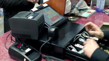 Cashier Cash Register Purchase