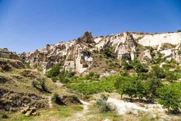 National Park, Cappadocia. Scenic view of a mountain valley