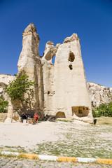 Open Air Museum of Goreme, Cappadocia. Church in the Rock