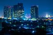 Bangkok City Night Light Capital City Thailand