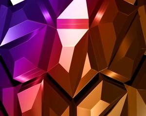 алмаз  красно-фиолетовый