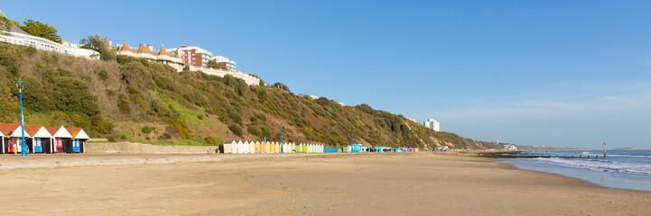 Bournemouth beach Dorset England UK panorama