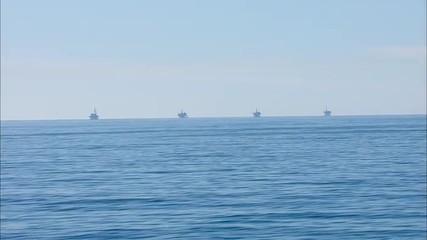 California Ocean Oil Rig PCH