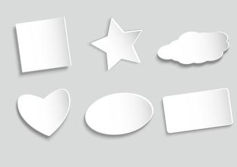 Papier Schilder