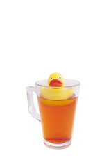 Hot tea duck