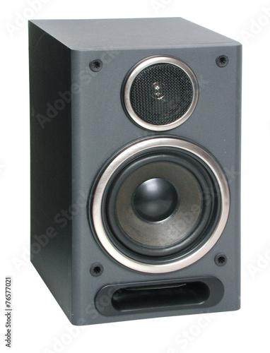 Leinwanddruck Bild Lautsprecherbox