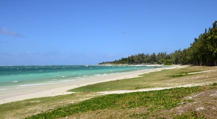 Mauritius, picturesque village of Belle Mare