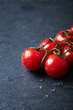 Cherry tomatoes on the vine (close up)