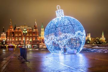 Кружевное новогоднее круглое Lace Chri