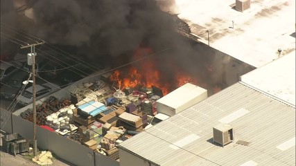 Warehouse Fire Las Vegas