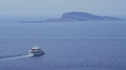 Panorama of Dubrovnik waters