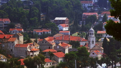 Cavtat town panorama