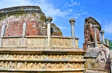 The Ruins of Polonnaruwa, Sri Lanka