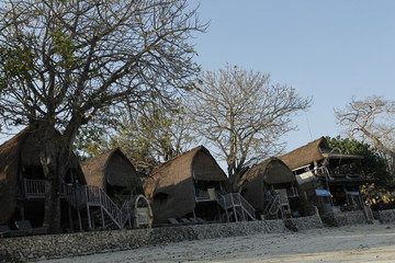 unique hotel on the beach bali