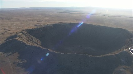 Arizona Desert Barringer Crater