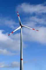 Windkraftanlage, Kemel, Hessen