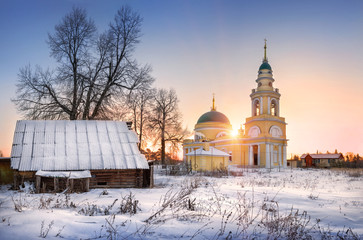 Церковь Михаила Архангела морозны