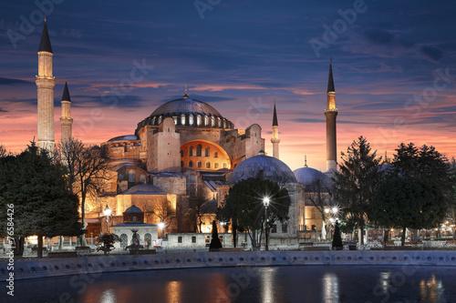 Sainte-Sophie Istanbul Poster