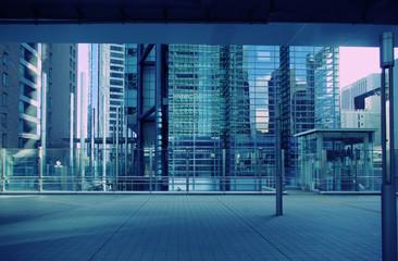 都会の静寂