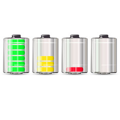 batteries with different charge