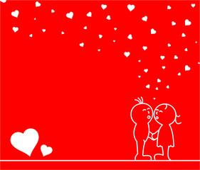 Pärchen Liebe