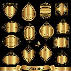 Vector set of golden labels