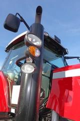 Landwirtschaftliche Zugmaschine, Traktorkabine - Bildausschnitt