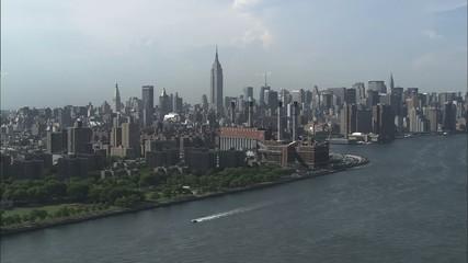 Midtown New York Manhattan Island