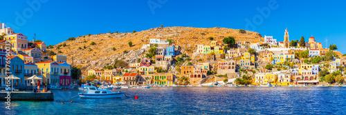 Leinwandbild Motiv Symi Greece