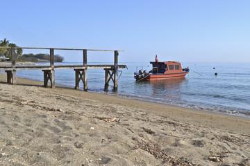 il molo e la barca