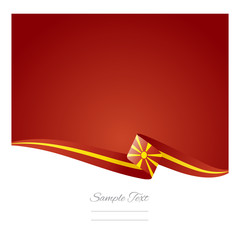 Abstract color background Macedonian flag vector