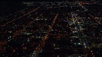 Utah Skyline Lights Glow