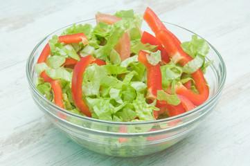 Meatless vegetable salad