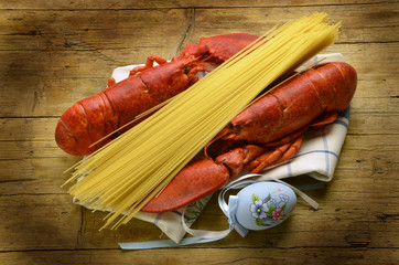 Homarus americanus American lobster Astice Expo Milano 2015