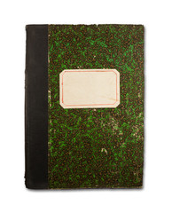 Old notebook's cover
