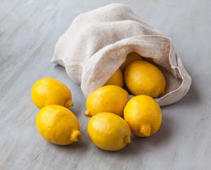 Sack of lemons