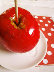 candy apple, Toffee Apple