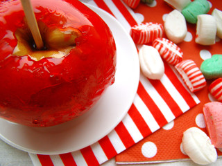 candy apple, Toffee Apple, sugar candy