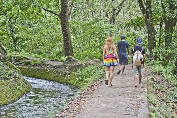 lombok: lungo il sentiero
