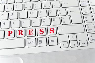 Helle Tastatur: Press