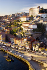 Vertical view of Porto