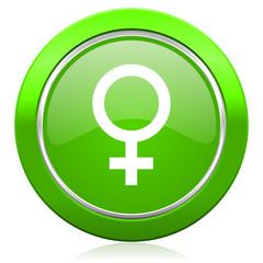female icon female gender sign
