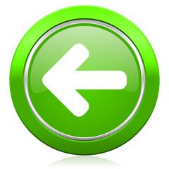 left arrow icon arrow sign