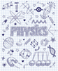 handwritten Physics set