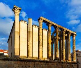 ancient temple. Merida, Spain