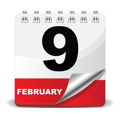 9 FEBRUARY ICON
