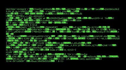 Source code crypto big characters