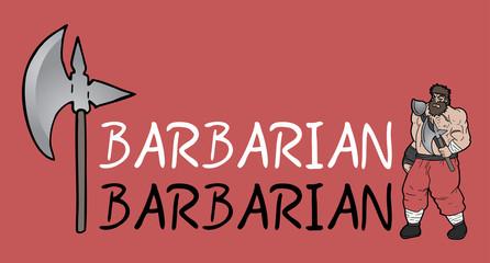 barbarian symbol