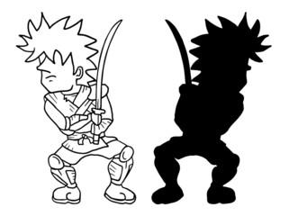 small samurai